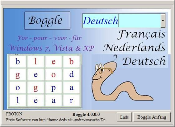 Boggle Deutsch
