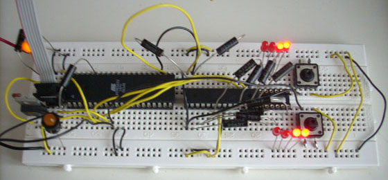 C-mon's Electronics, I2C Master-slave in Assembly (ASM)