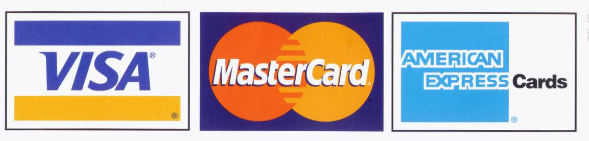 visa mastercard discover american express. American Express