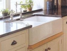 Porselein spoelbak keuken u huis schoonmaken