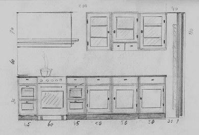 Standaard Afmetingen Keukenkastjes.Afmetingen Keukenkasten Action Wandrek Industrieel