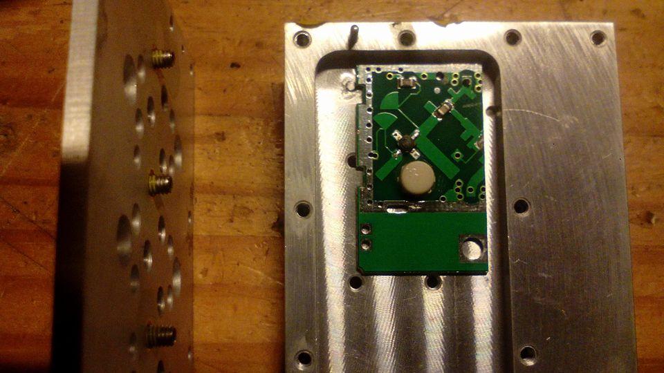De HB100 als 10 GHz Transmitter !