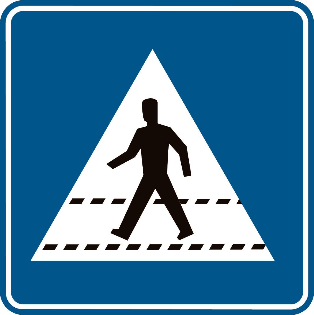 Oversteekplaats voor voetgangers (F49): home.deds.nl/~walkandbike/ftp.deds.nl/wetgevingwandelen...